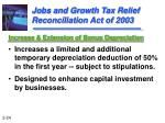 jobs and growth tax relief reconciliation act of 2003