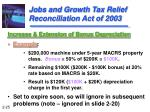 jobs and growth tax relief reconciliation act of 200325