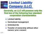 limited liability company llc