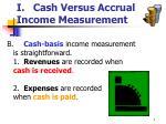 i cash versus accrual income measurement7