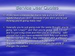 service user quotes26