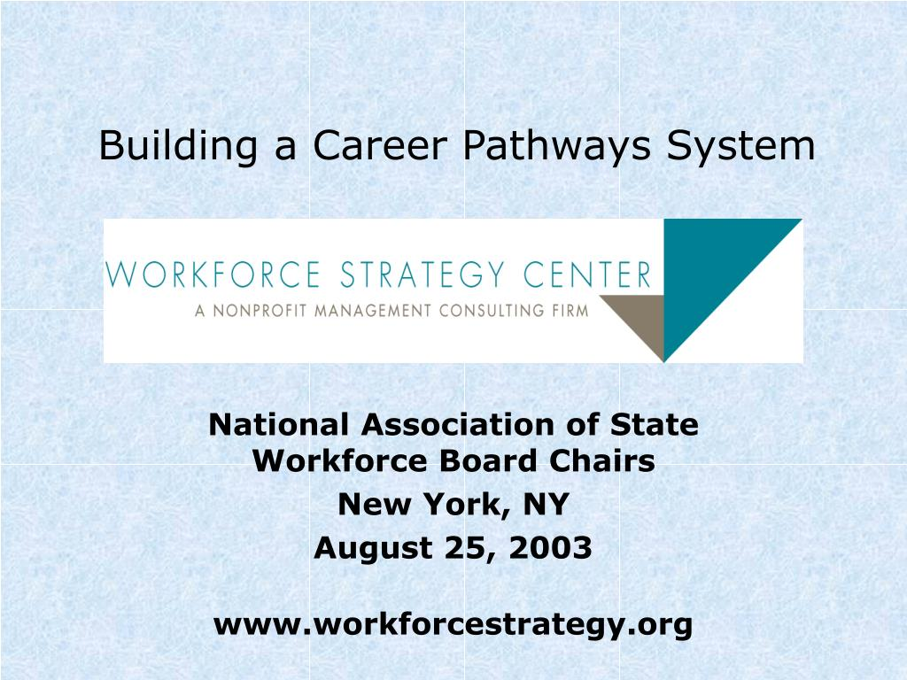 building a career pathways system l.