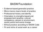 basw foundation