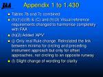 appendix 1 to 1 43020
