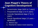 jean piaget s theory of cognitive development5