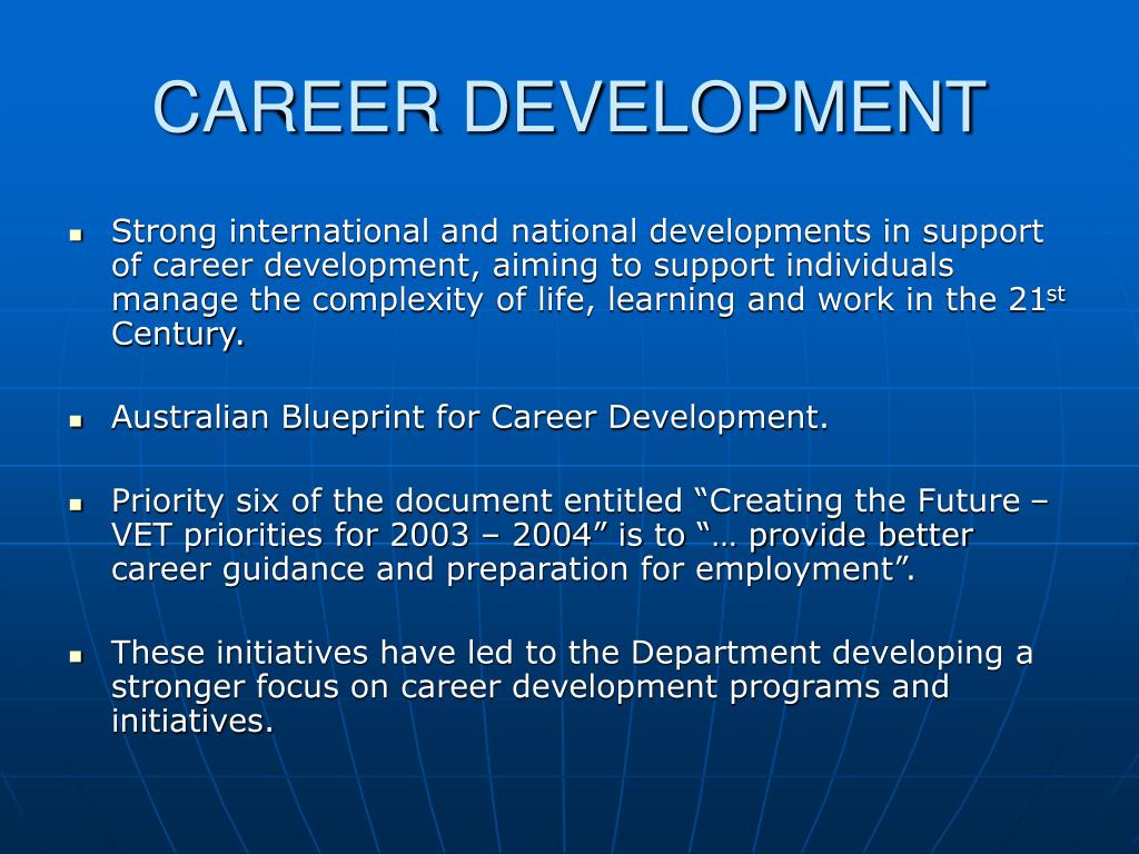 Ppt career development powerpoint presentation id52320 career development l malvernweather Image collections