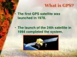 what is gps3