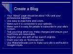 create a blog30