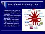 does online branding matter
