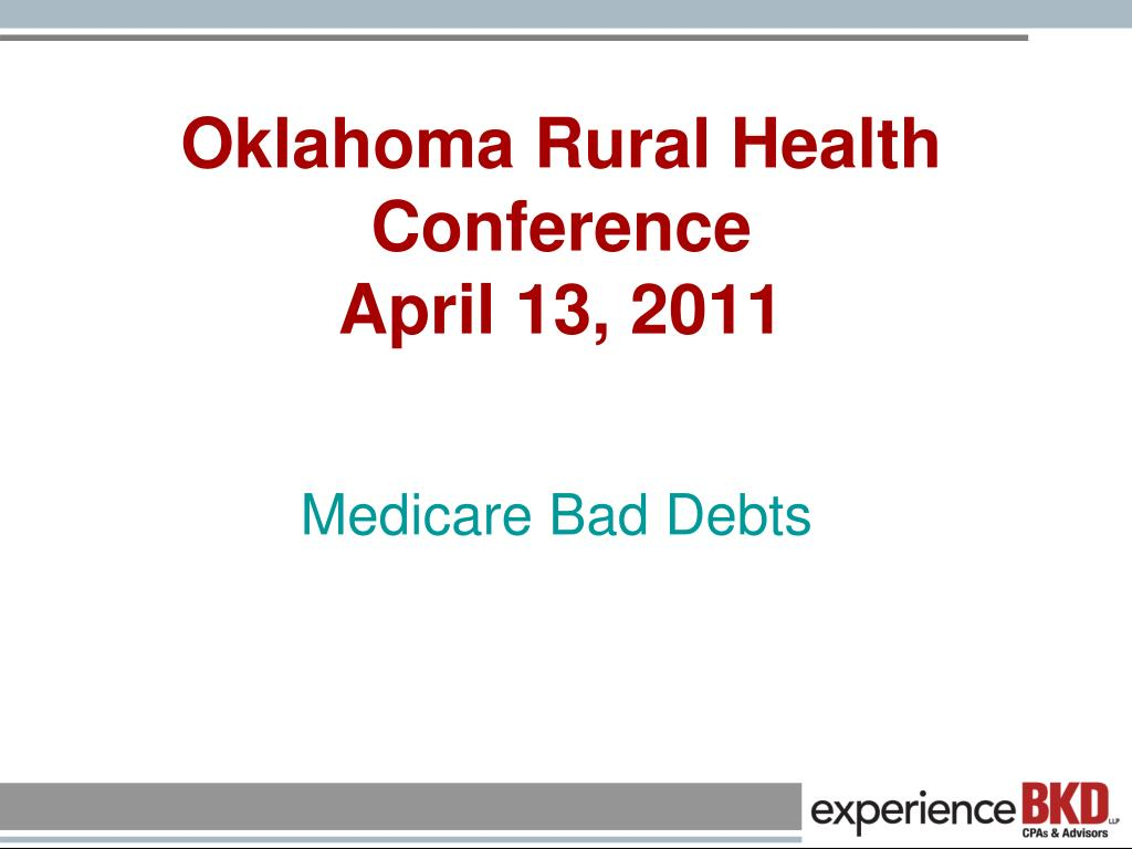 oklahoma rural health conference april 13 2011 l.