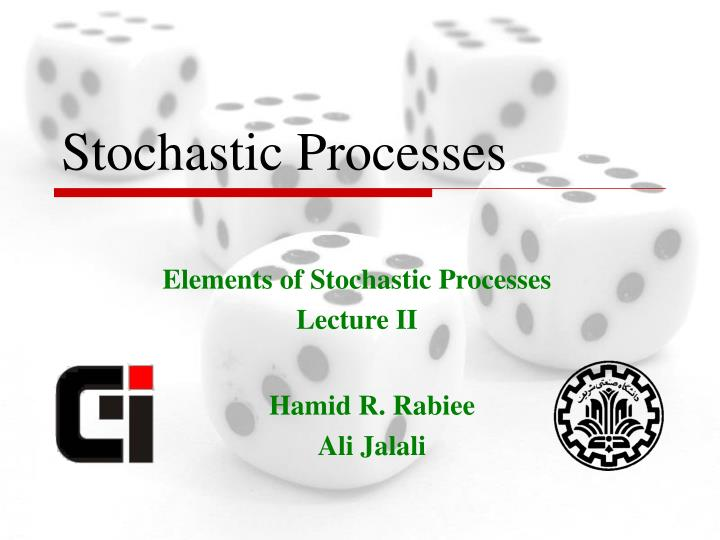stochastic processes n.