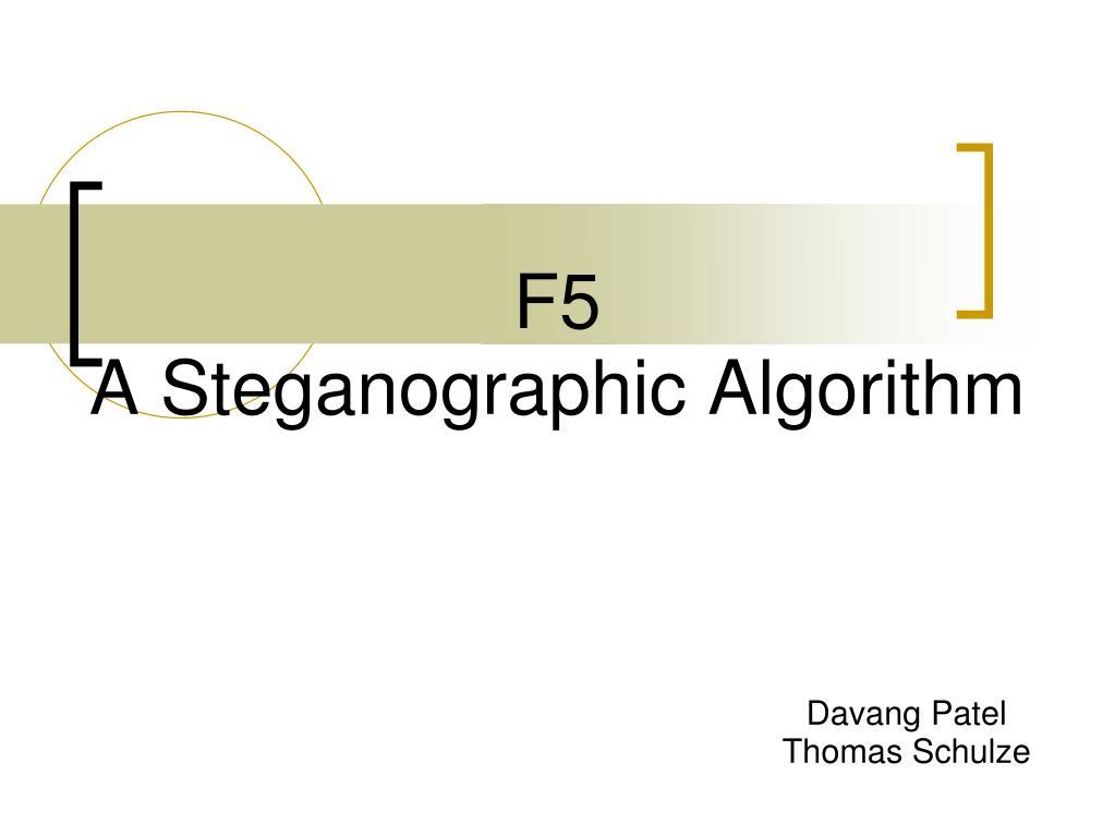 f5 a steganographic algorithm l.