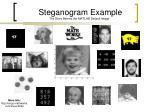 steganogram example the story behind the matlab default image