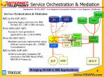 service orchestration mediation