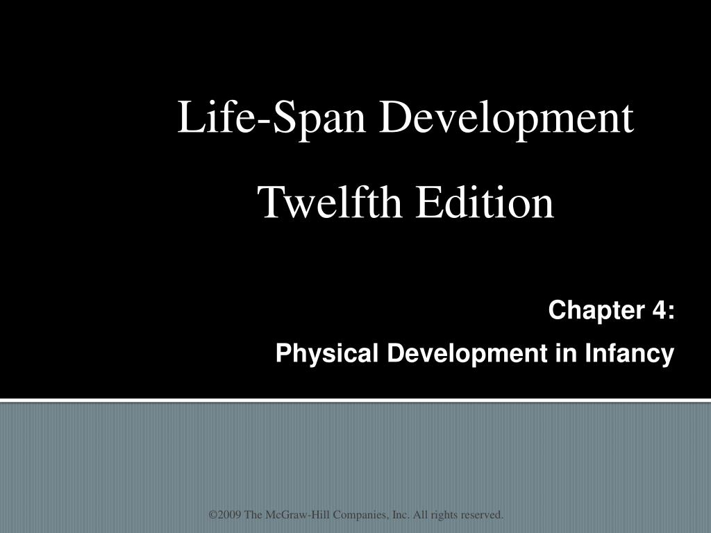 chapter 4 physical development in infancy l.