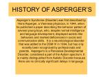 history of asperger s