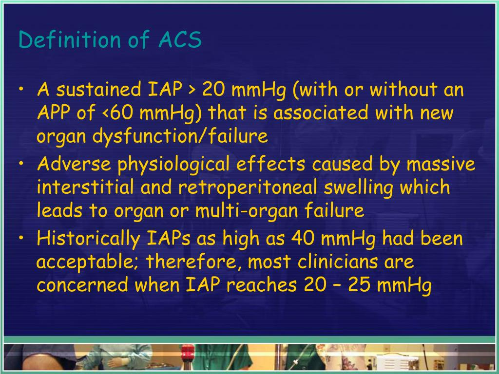 Definition of ACS