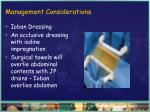 management considerations46