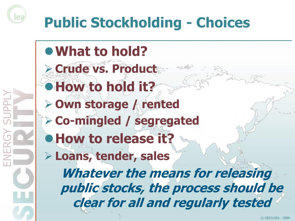 Public Stockholding - Choices