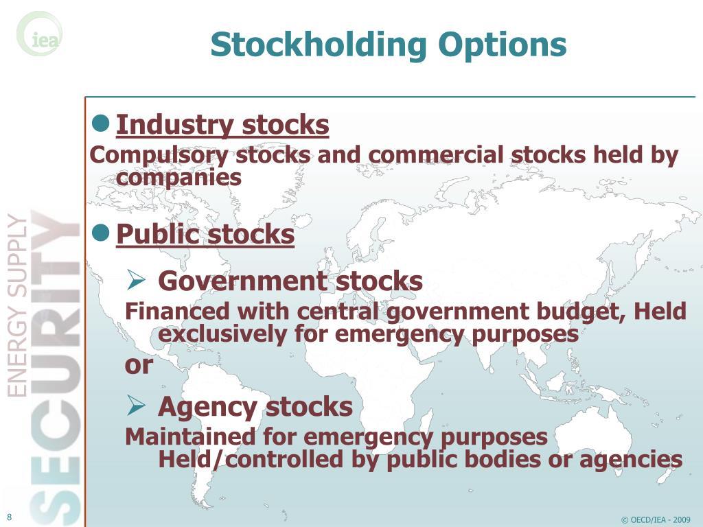 Stockholding Options