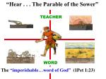 hear the parable of the sower10