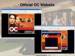 official oc website