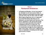 week 6 restaurant ambiances23