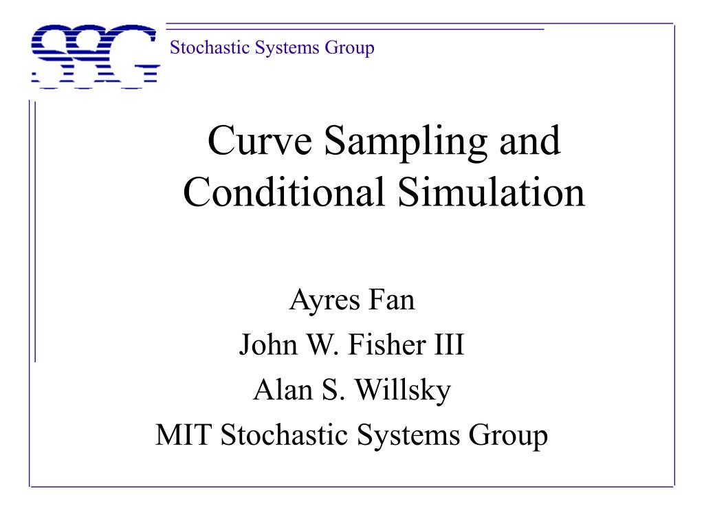curve sampling and conditional simulation l.