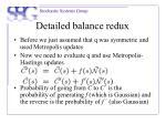 detailed balance redux