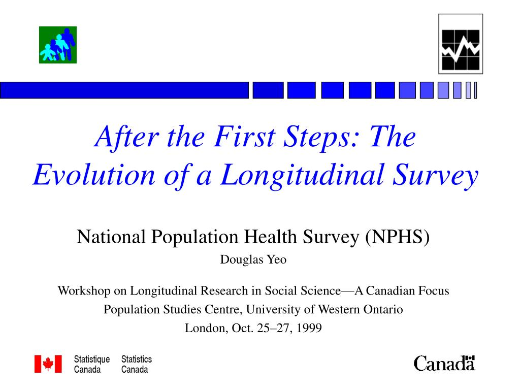 after the first steps the evolution of a longitudinal survey l.