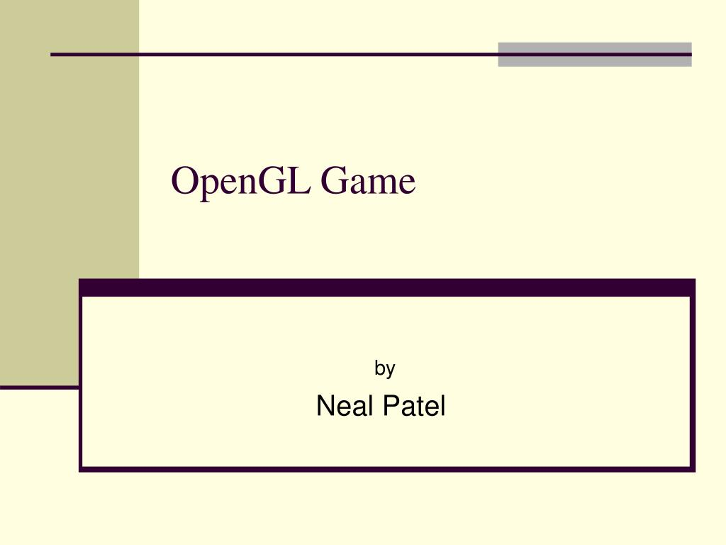opengl game l.