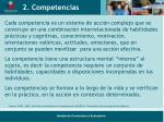2 competencias