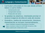lenguaje y comunicaci n