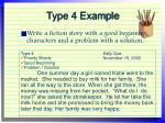type 4 example