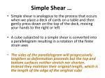 simple shear48