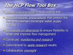 the hcp flow tool box