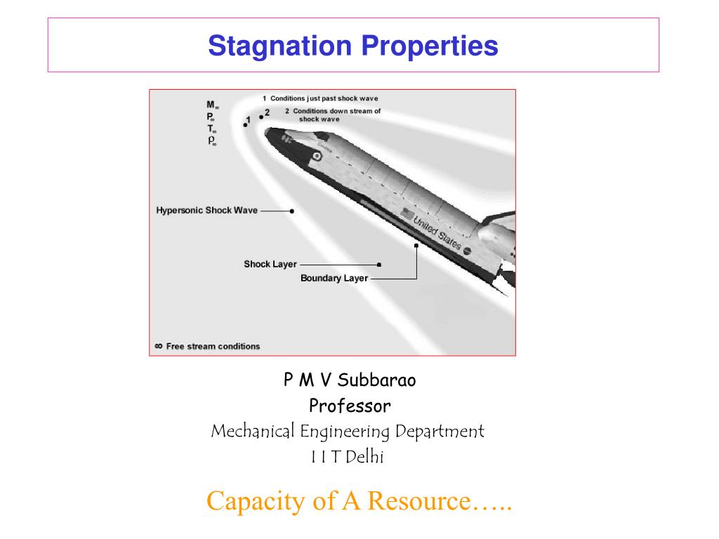 stagnation properties l.
