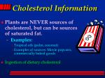 cholesterol information54