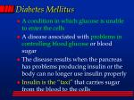 diabetes mellitus74