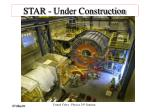 star under construction