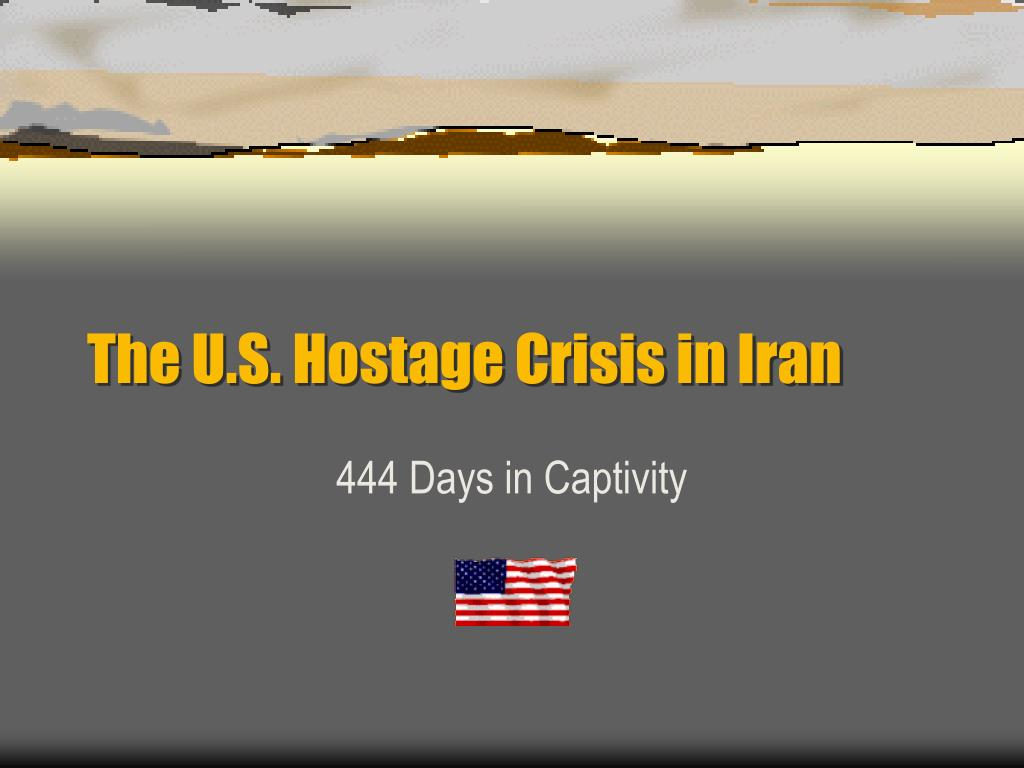 the u s hostage crisis in iran l.