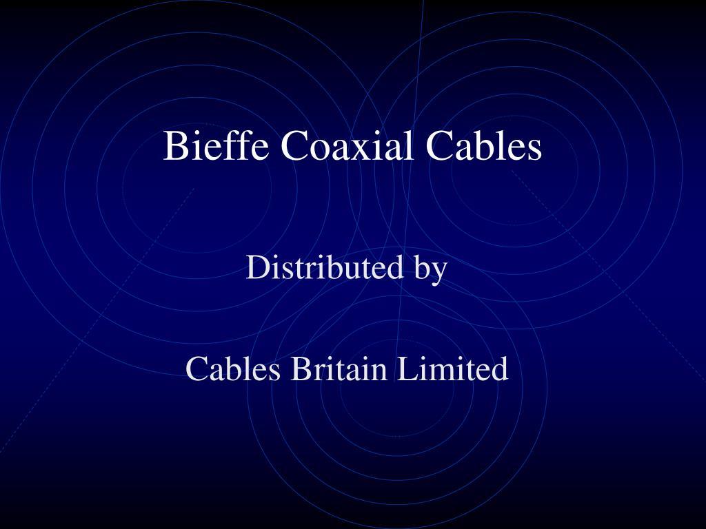 bieffe coaxial cables l.