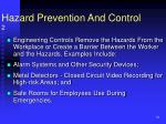 hazard prevention and control 2