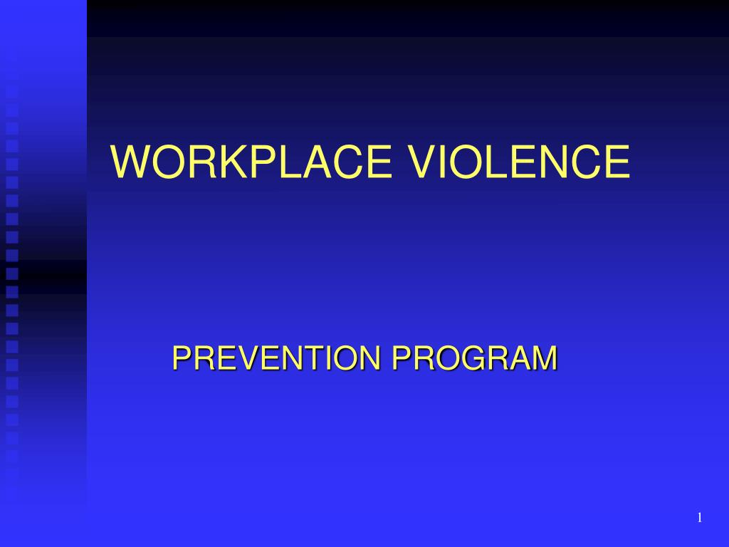 workplace violence l.