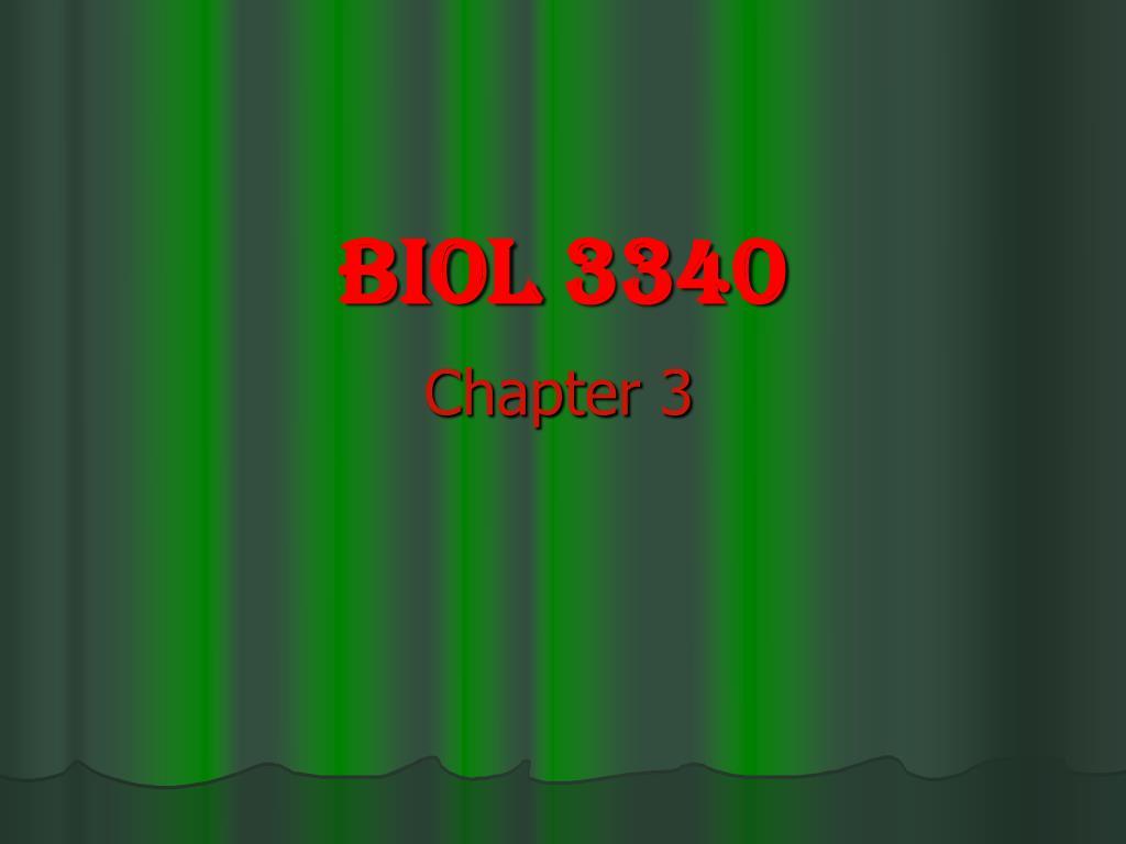 biol 3340 l.