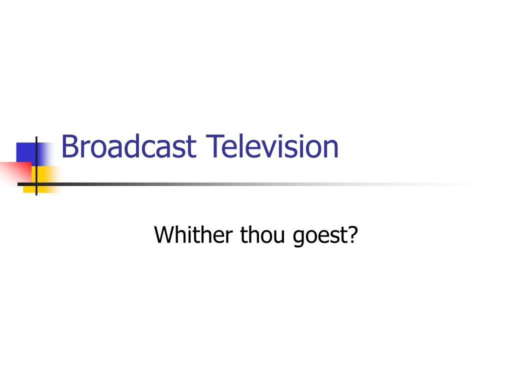 broadcast television l.
