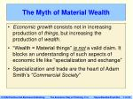 the myth of material wealth7