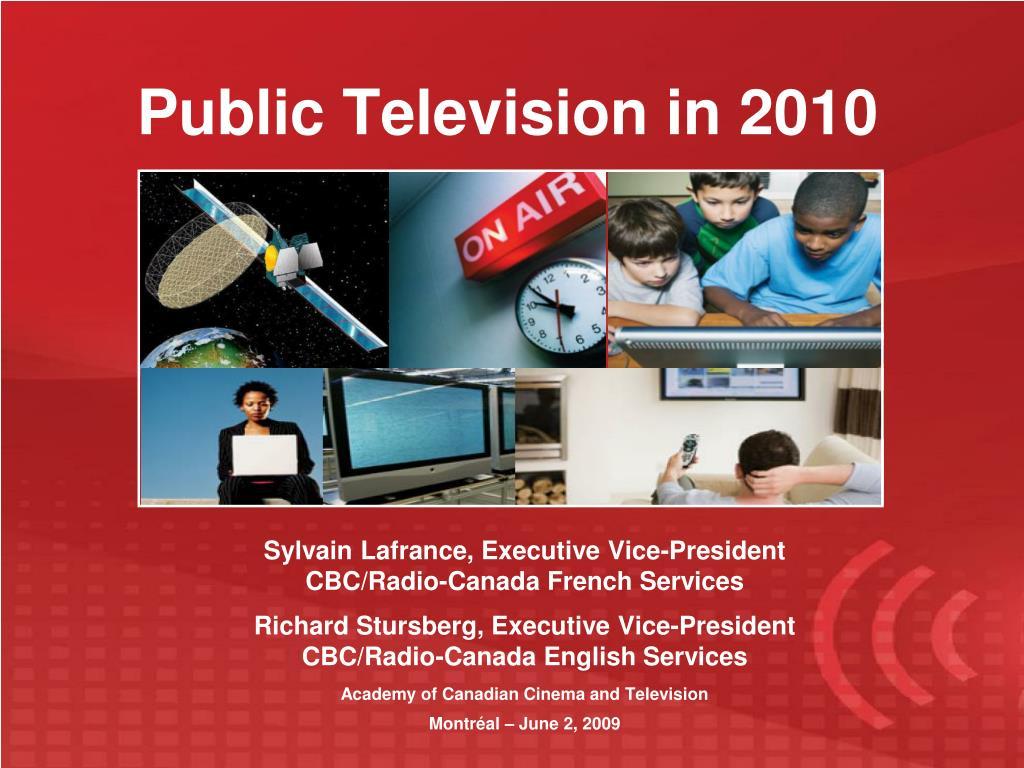 public television in 2010 l.