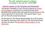 the self evaluation process in greece according to the law no 3374 200514