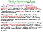 the self evaluation process in greece according to the law no 3374 200515